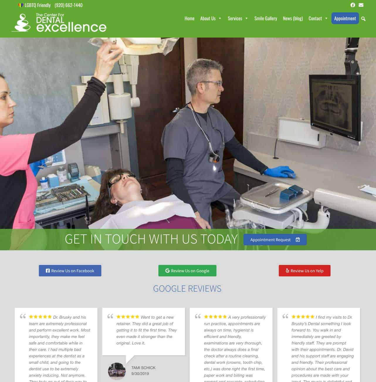 Read more about the article The Center for Dental Excellence highlights health in updated website